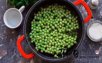 как законсервировать зеленый горошек
