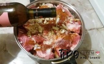маринад для свиного шашлыка