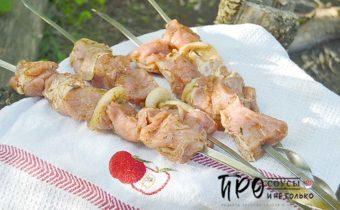 маринад с кетчупом для шашлыка
