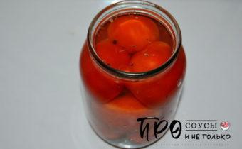 Квашеные помидоры быстрого приготовления