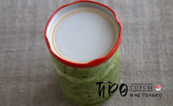 соус из хрена и зелени