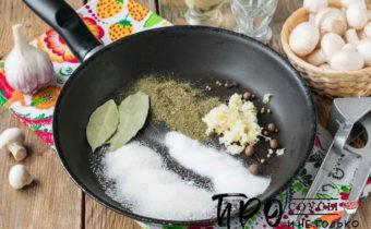 как приготовить маринованные шампиньоны