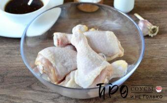 как запечь куриные голени в духовке