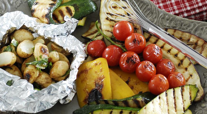 рецепт маринада овощи гриль