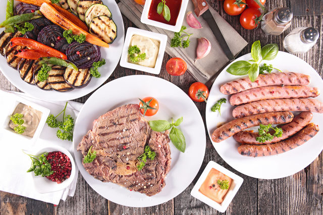 как готовить мясо на гриле