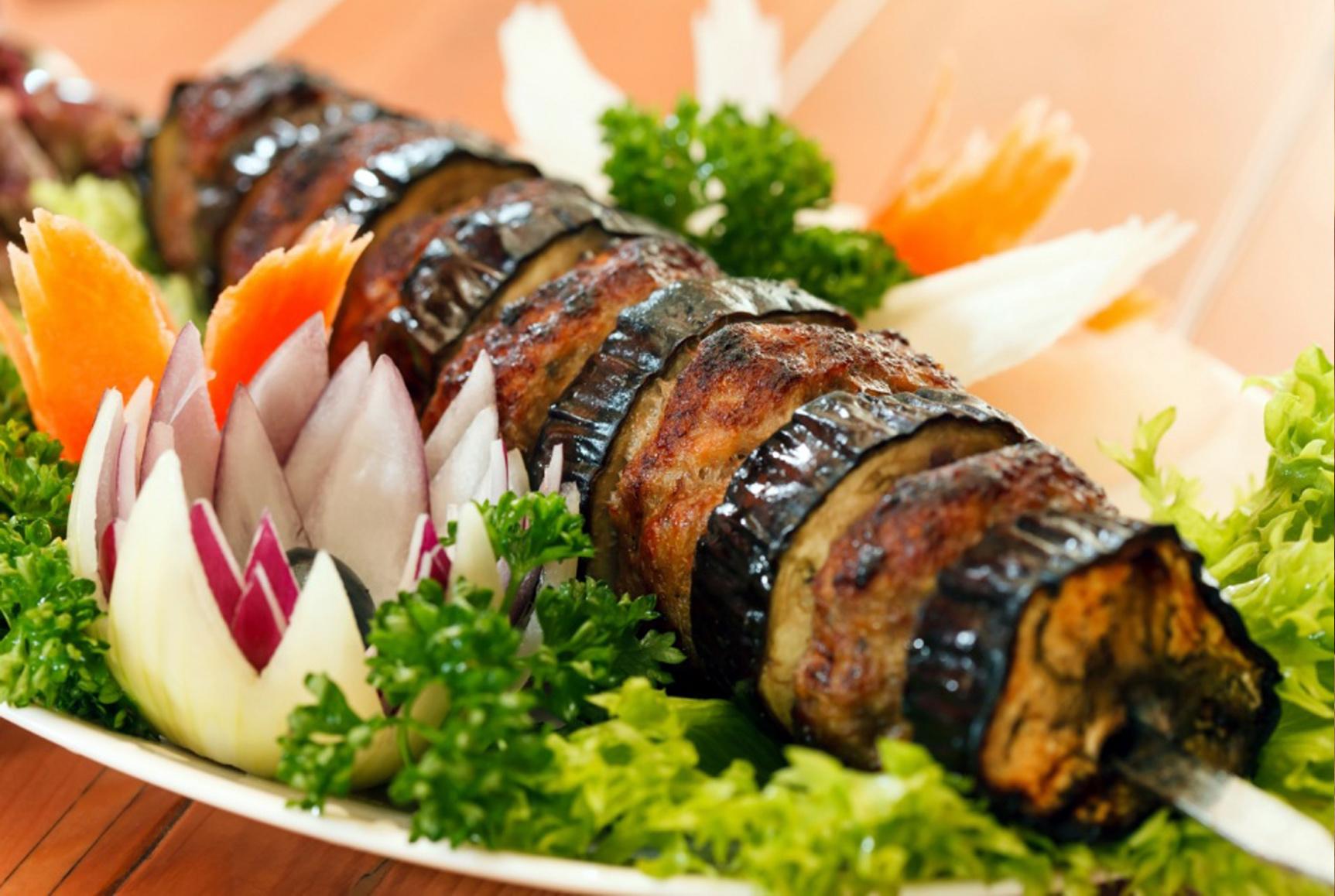Рецепты и секреты приготовления шашлыка из овощей