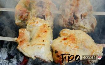 куриные бедра на мангале